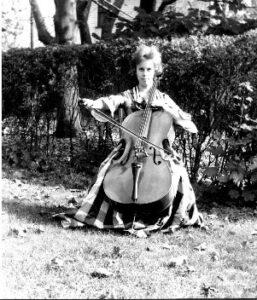 Ellen at 17 in dress from 1890